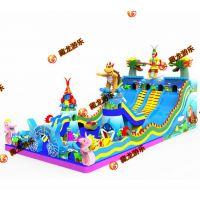 大号充气城堡蹦床 育婴店门口摆的小蹦床去哪买 气模玩具室内城堡乐园