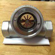 偏心式叶轮水流指示器SG-YL11-1/叶轮式螺纹连接水流观察器/SG-YL11-1流量指示器