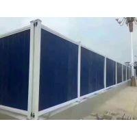 市政建筑围挡工程安全围挡厂家直销工地施工安全PVC塑钢围挡 pvc围挡
