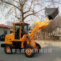 砂石土方装载机 28马力四驱柴油小铲车 多用途房屋建设推土机志成重工