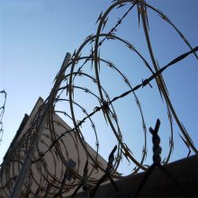 焊接刀片刺绳 刺丝每米重量 刺丝网围栏
