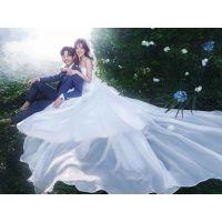 夏季新娘都穿什么太原婚纱礼服