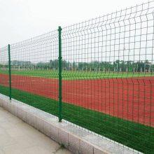 绿化隔离栅栏支持定做 包头市双边丝护栏网隔离栅浸塑处理