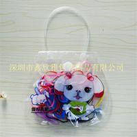 PVC手提袋 商品包装袋 高档高透礼品袋 可印刷加印logo