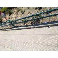 道路两侧绿化带锌钢隔离护栏 工厂学校锌钢围墙护栏
