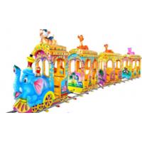 中山汉唐厂家直销产品大象火车游乐设备 玻璃钢