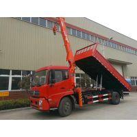 东风天锦EQ5160JSQZMV随车吊带自卸配四代石煤6.3吨吊机厂家直销