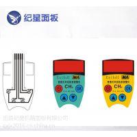 纪星PVC按键面板 鼓包面贴 丝印PVC薄膜开关面板