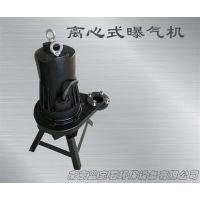 曝气效果佳厂家推荐离心式潜水曝气机新式带支架0.75KW潜水曝气机