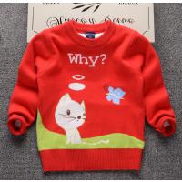 超低价童装毛衣批发厂家秋冬打底衫儿童毛衣卡通可爱便宜毛衣批发