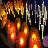 2018款LED芦苇灯向日葵 LED灯地插花 仿真太阳花户外防水
