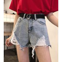 广州的牛仔裤批发女士短裤夏季热裤三分裤清货5元牛仔短裤清仓