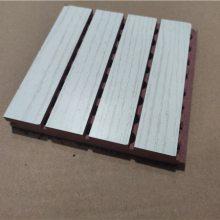 黄冈木质吸音板厂家/防火槽孔吸音板规格及价格