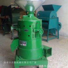 河北省大米谷子碾米机 启航牌高产量荞麦脱皮机 水稻去皮机厂家