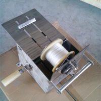 HS32/42/52半自动绕线机 不锈钢香肠扎线机
