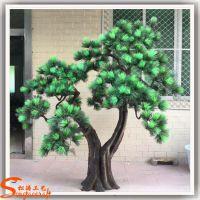 人造假松树 景观工程装饰仿真罗汉松树 价格最优 广东仿真树定做