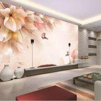 电视背景墙纸壁纸客厅卧室书房3d立体无缝墙布大型壁画厂家定制