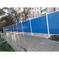 山西晋城工程直销pvc围挡 彩钢夹芯板围挡 工程铁皮围挡 市政围挡