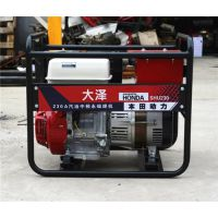 本田230a汽油发电电焊机价格