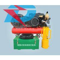 空压机驱动小型便携式打桩机200mm口径木桩植桩机