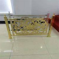 优质幕墙雕刻铝单板 户外广告牌 镂空金色铝单板
