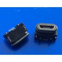 防水usb MICRO 5P防水母座IP67前插后贴B TYPE有柱贴片 户外设备