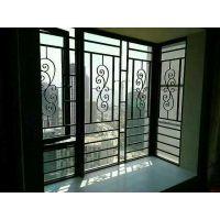 城区房两室一厅铝窗花防盗装修