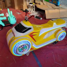 新款儿童游乐设备电动太子摩托车游乐设备现货促销幻影摩托车碰车