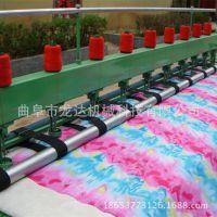 厂家直销多功能9针做棉花被子机器直线绗缝引被机