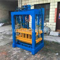 液压水泥空心砌块砖机 全自动免烧砖机 水泥垫块机厂家
