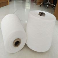 涤纶合股纱80S/2、100S/2大化超细旦纯涤纱