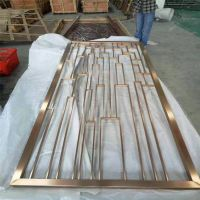 福建厂家不锈钢屏风 金属花格