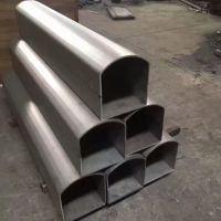 佛山专业定制201不锈钢拱形管、定制各类不锈钢异型管
