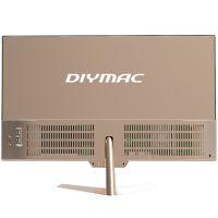 DIYMAC/狄迈一体机E24系列24寸/I7 6500U/4G/120G无边框一体机电脑高性价比