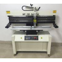 厂家供应1.2米PCB锡膏半自动印刷机(可调可定做)