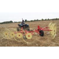 四轮车配套液压搂草机 指盘牧草打捆收集收获机