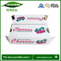 同泽纸业品牌定制食品级防水蜡纸箱