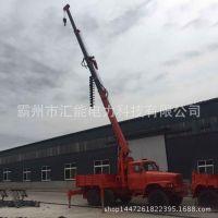 18米线杆 吊车钻孔一体机 越野型吊钻一体机 8吨36米吊钻一体机