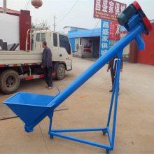 [都用]活性炭螺旋提升机 不锈钢蛟龙上料机 砂子提升机价格