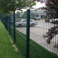厂家供应1.5*3米桃型柱护栏 公路专用铁丝隔离网 机场围栏