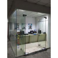 长宁区门禁玻璃门维修 地弹簧玻璃门禁维修