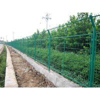 高速公路护栏网 双边丝护栏网铁丝防护网 圈地养殖钢丝护栏网厂家
