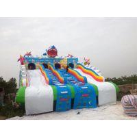 室外大型成人支架游泳池 移动儿童水上乐园设备滑梯 充气玩具水滑梯水上漂浮