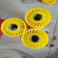 专业生产聚氨酯 太阳轮 送纸轮 纸箱厂用压纸轮 包胶加工 可定做