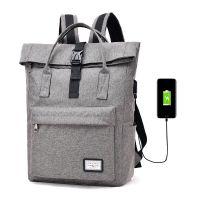 廠家直銷學院風情侶款雙肩包USB充電電腦背包高中大學生男女書包