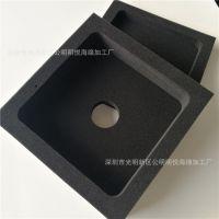 高密度海绵内托厂家高质量包装箱包装内衬海绵异形加工