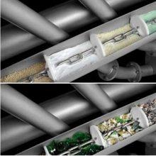 药粉管链输送系统 非标定制锅炉灰输送管链机