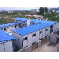 河北沧州祈虹彩钢板安装搭建岩棉防火工地用活动房