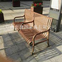 不锈钢公园椅报价 户外公共椅 不锈钢休闲椅图片 户外家具