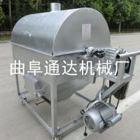 常年零售 全自动花生滚筒炒货机 菜籽芝麻翻炒机 多功能炒锅 通达
